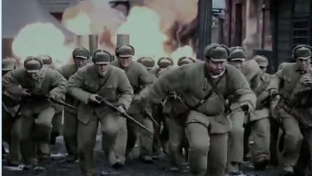 志愿军发现美军仓库,连长下令东西不要立即撤退,刚走没多久轰炸就来了