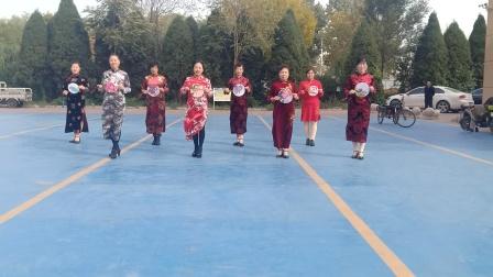 乾城社区旗袍秀《红枣树》