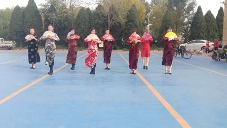 乾城社区旗袍秀《中国茶》