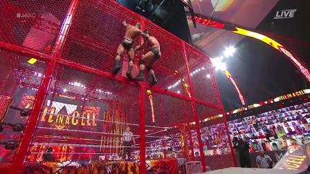 """WWE天之骄子坠落地狱牢笼,""""顶级掠食者""""重登冠军宝座!"""