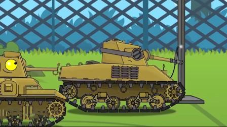 坦克大战:被关进集中营,该如何越狱呢?