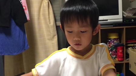 【Happy face】【Children】面包超人  在国外的妈妈教宝贝学习汉语啊
