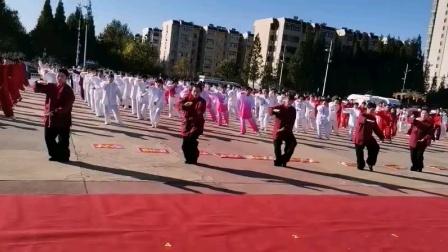 济宁九九重阳节六艺拳展演