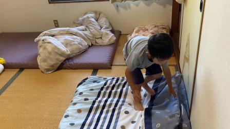 【Happy face】【Children】面包超人  看看吧5岁的孩子收拾房子!!