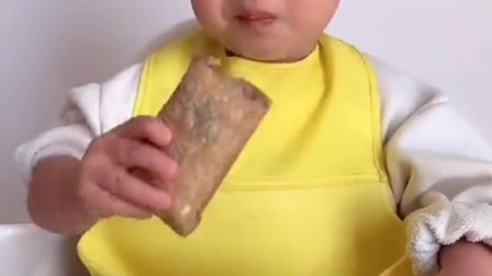 今天吃薯条,宝宝开心坏了