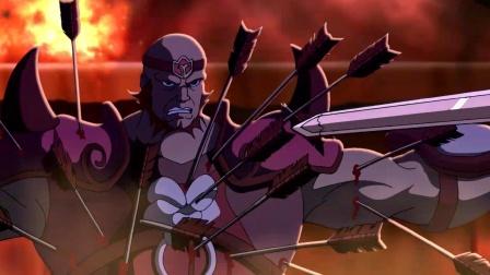 动漫:典韦为了保护主公,肉身挡在路前