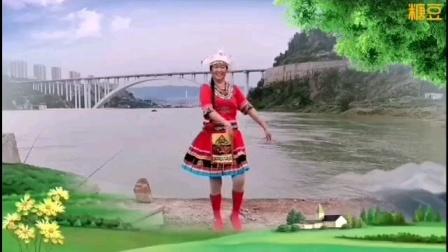 王妹儿广场舞(398号)《边疆的泉水》