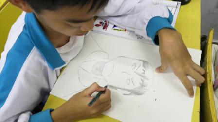 儋州市第二中学初一(6)班美术课作业展示