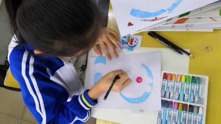 儋州市第二中学初一(8)班美术课作业展示
