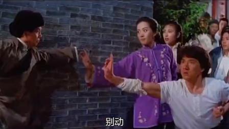 高手找黄飞鸿要错拿的玉玺,和小妈大打出手,黄麒英过招才验明真身