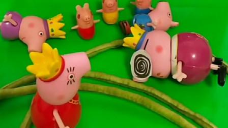 猪妈妈买的是是什么蔬菜啊,看起来怪怪的,小朋友们认识吗?