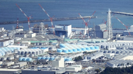 日本不再遮掩,123万吨核污水排入大海,辐射量超标九十万倍