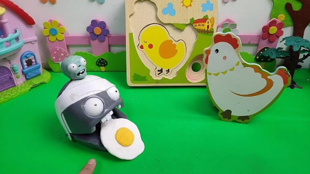 鸡妈妈丢了一个鸡蛋好伤心!