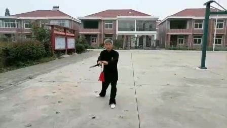 老师教学–42式太极剑收势