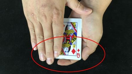 为什么轻轻一摸,扑克牌就变了!原来这么简单