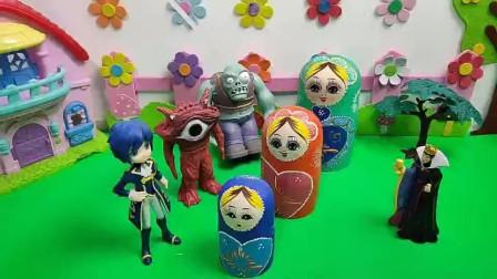 每个套娃里都有一位自己喜欢的公主!