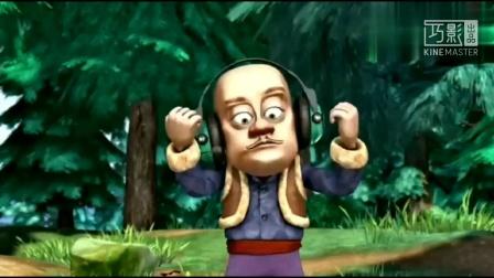 """如果将光头强在森林演唱的""""十二生肖总动员""""主题曲换成原版……"""
