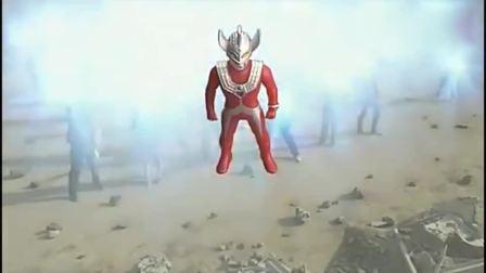 奥特曼泰罗复活大战黑暗路基艾尔,为救银河奥特曼被变回人偶