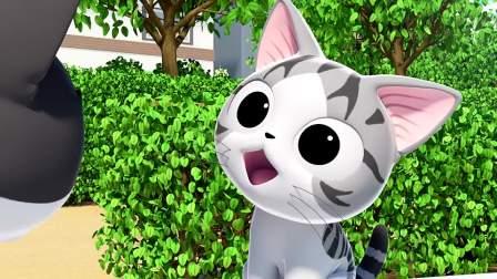 甜甜私房猫:小猫一声吼,就问你怕不怕,可惜对面天然呆