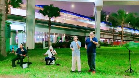 跟俞老师合唱《下马酒之歌》2020.10.30