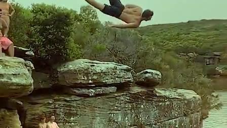 美妙的跳水画面看高手跃水,精彩绝伦