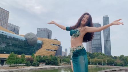 『舞蹈展示』肚皮舞popsong《恨我吧》MV版【杭州太拉国际东方舞&印度舞培训漫漫老师】