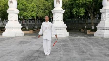 42式太极剑片段练习