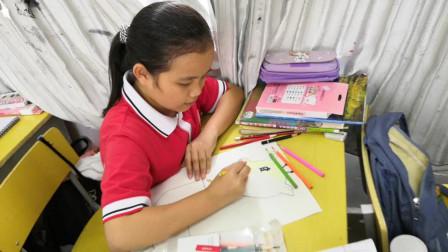 儋州市第二中学初一(5)班卡通画作业展示
