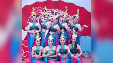 中山肚皮舞瑜伽JQ国际舞蹈敦煌舞