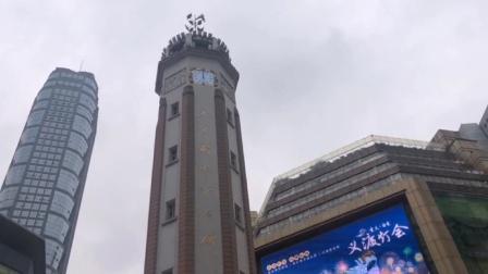 重庆解放碑中午12点钟声