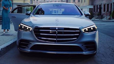 新款奔驰S-class,重新定义高科技内饰!