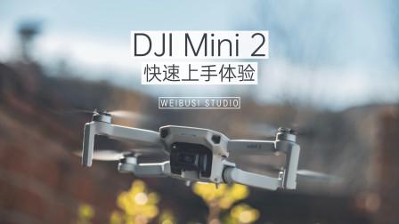 DJI Mini 2 快速试飞体验:让我看见这命运中引路的风
