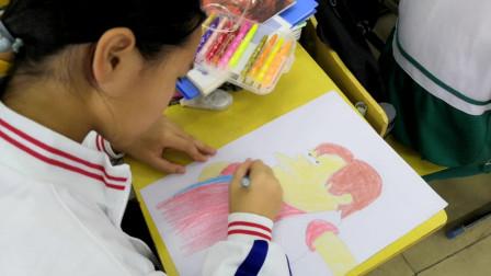 儋州市第二中学初一(7)班卡通画作业展示2