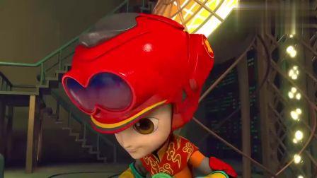 山海宝贝:小哲发明的甜食炮筒,可以放大甜食,小炫听后感觉很酷