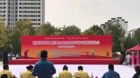 南阳市广场舞比赛获得一等奖,《中国脊梁》花语舞蹈