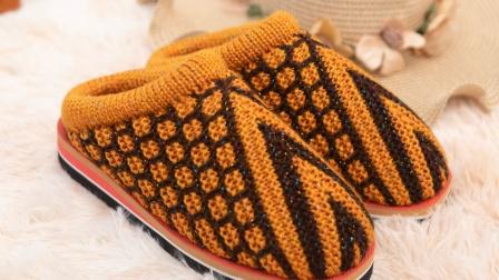 29爱上编织包包鞋的钩法巧手女工棉拖鞋