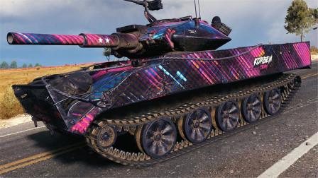 坦克世界神操作:十次击毁的美系坦克!轻坦也能打城市战吗?
