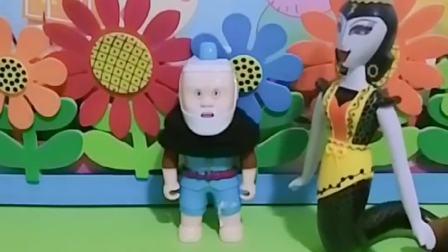 葫芦娃玩具:蛇精抓了葫芦爷爷,真当葫芦娃不敢上门要人吗?