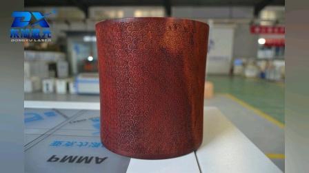 东旭激光木质笔筒旋转雕刻机