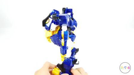可以变形的机甲玩具 迷你特工队之超级恐龙力量