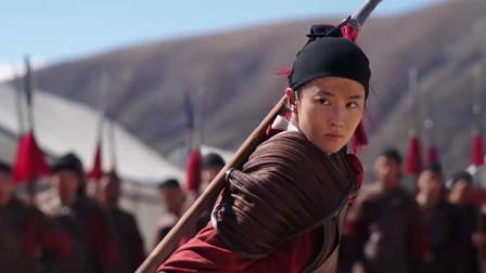 甄子丹电影《花木兰》:刘亦菲与战友比武!