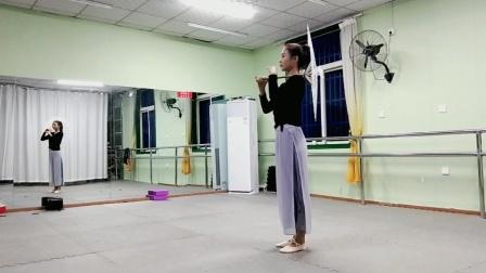 古典舞青蛇视频分解动作二,阜阳艺路舞蹈学校提供。