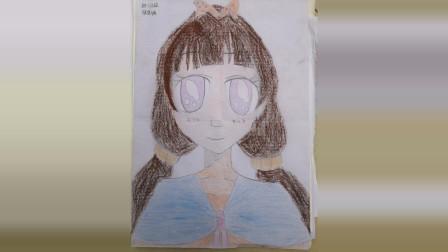儋州市第二中学初一(2)班美术课作业展示2