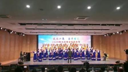 青年指挥家谭李陈改编并指挥合唱获第一名