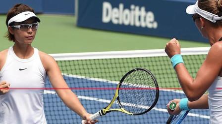 金花名将2-1救赛点首进美网女双决赛 成中国大陆首人冲冠