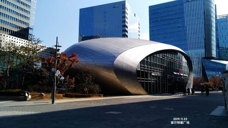 首尔明星广场 韩国艺人明星欧巴出没的地方