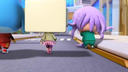 猪猪侠:猪猪侠进入咖啡厅,结果当成了洗手间,还被认出身份!