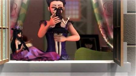 精灵梦叶罗丽:罗丽公主衣服上的花纹图案,刚好说明了她就是这位神秘仙子!