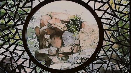 她的手工编织花片,像极了苏州园林里的雕花门窗