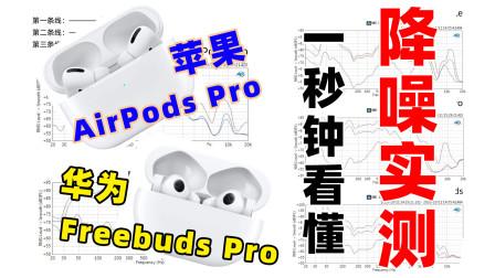 真人工耳测试!苹果华为降噪耳机,一秒钟看懂降噪效果